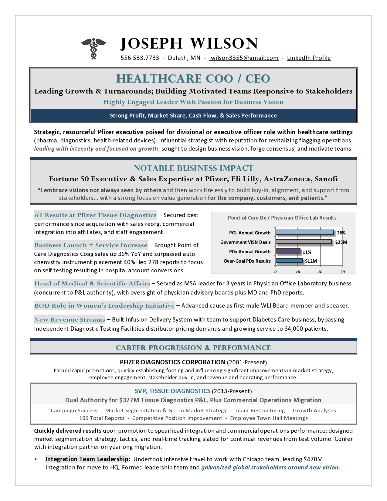 award  coo healthcare resume  best healthcare resume
